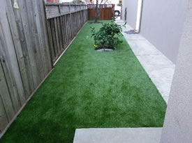 After- Artificial Grass Installed