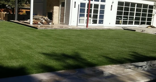 The Completed Atherton Artificial Grass Project