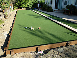 Bocce Ball Court Installation Services - Forever Greens
