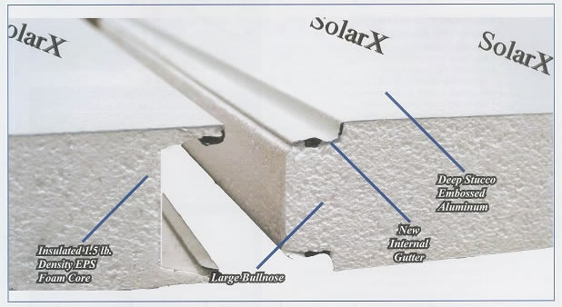 Solar X Insulated Roof Panels Not Only Provide Relief From The Sun And  Rain, But