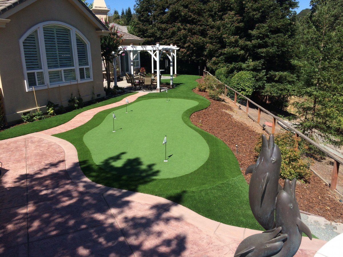 alamo putting green putt 44 with spring fringe and monterey