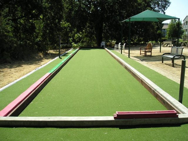 Project: Fairfield, CA Paradise Valley Estates Commercial Bocce Court