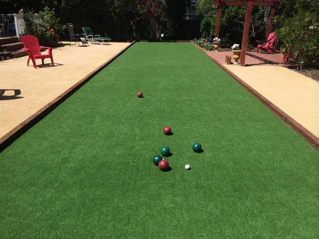 Project: Los Altos, CA Turf Bocce Court