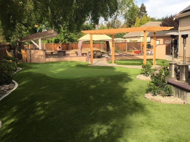 Project: Livermore Backyard Putting Green