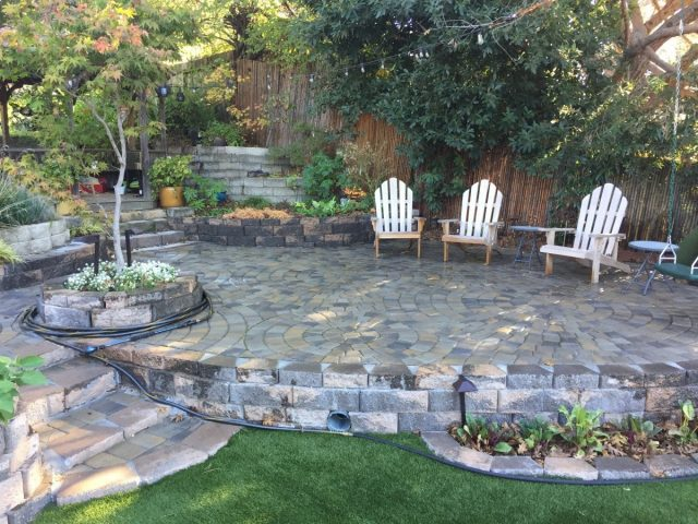 Project: Oakland, CA Pavers & Synthetic Grass