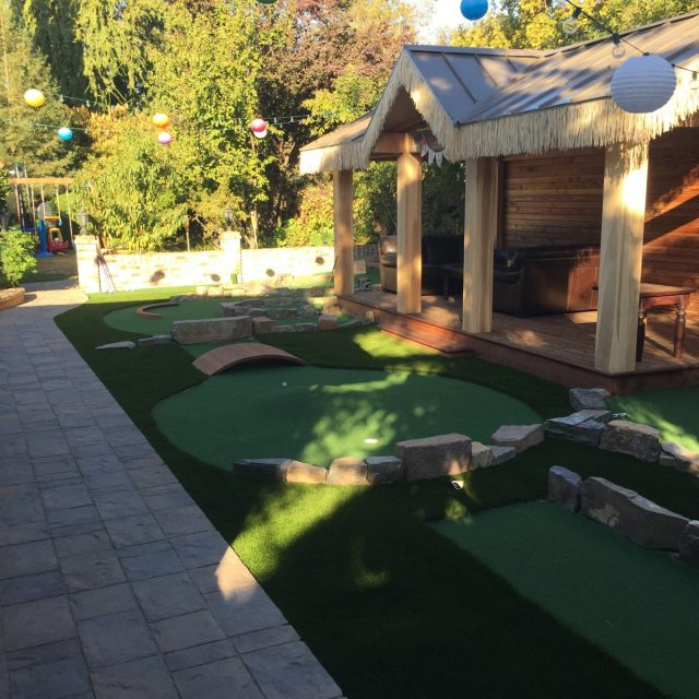 Project: Pleasanton, CA Backyard Putting Green