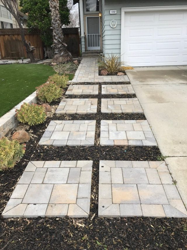 Project: Livermore, CA Front Yard Pavers