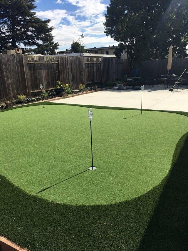 Project: Backyard Putting Green in Hayward, CA