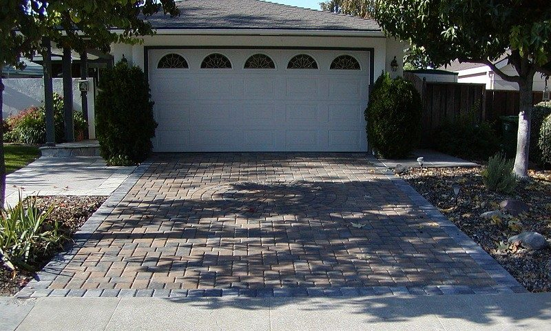 Project Brick Paver Driveway With Circle Kit Design