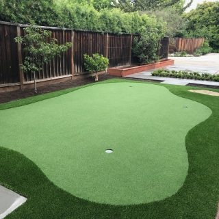 Putting Green Installation by Forever Greens