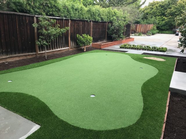 Putting Green Installation In Palo Alto Forever Greens
