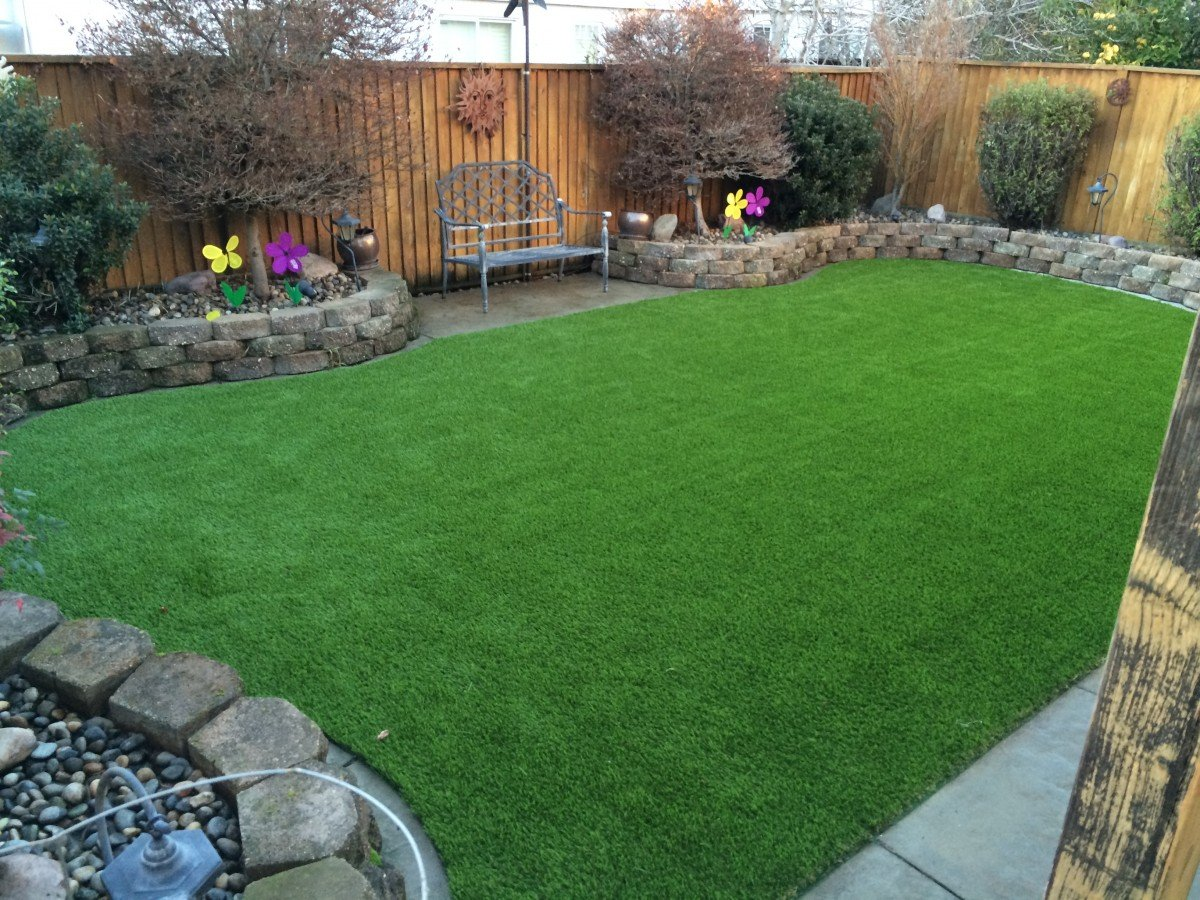 Livermore, CA Backyard Synthetic Grass - Forever Greens