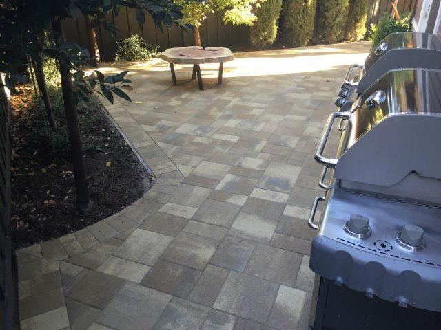 Project: Redwood City, CA Backyard Pavers