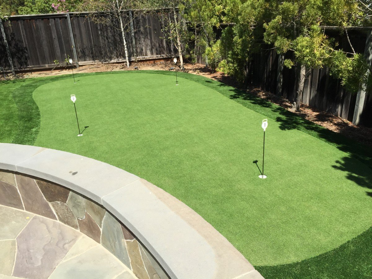 walnut creek ca backyard 4 hole putting course forever greens