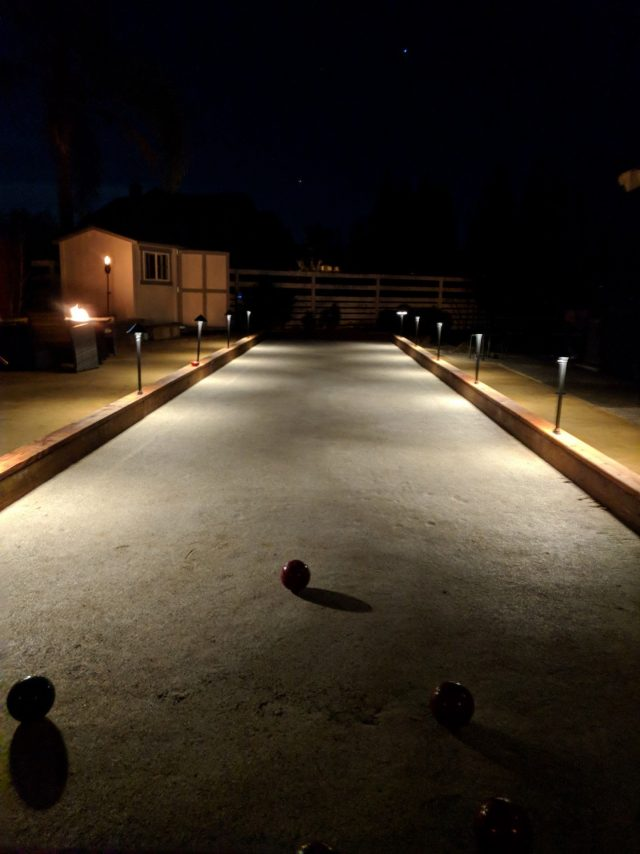 Project: Livermore Bocce Court With Oyster Shell Flour Surface