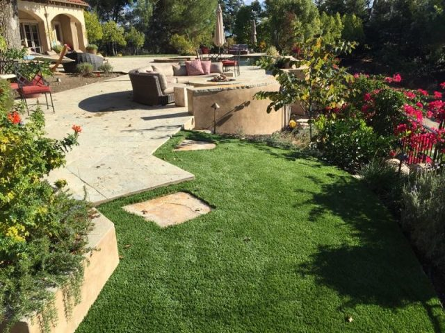 Project: Synthetic Grass Installation in Danville CA