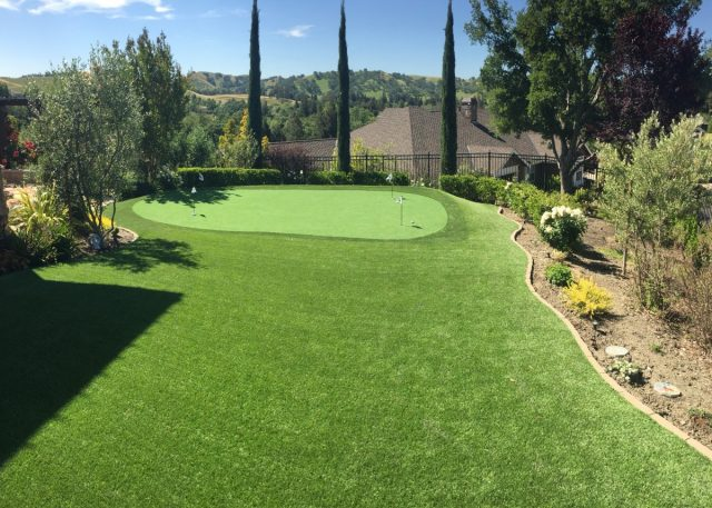 Project: Danville, CA Backyard Putting Green
