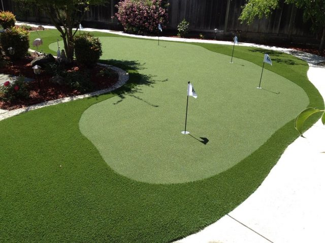 Project: San Ramon, CA Backyard Putting Green