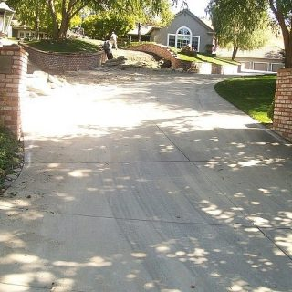 Driveway Before Photo