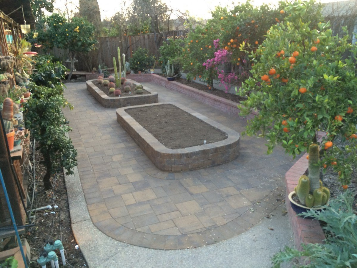 Belgard Pavers and Small Weston Wall in Livermore, CA ...
