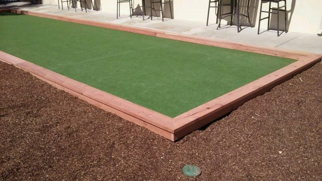 Project: Sunnyvale, CA Plaza Del Rey Commercial Bocce Court
