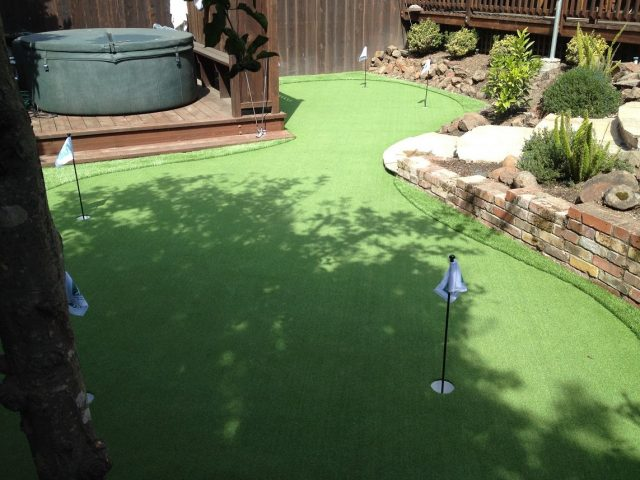 Project: Dublin, CA Backyard Putting Green