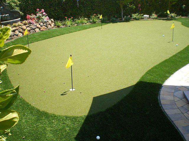 Project: Artificial Lawn & Putting Green in Blackhawk, CA