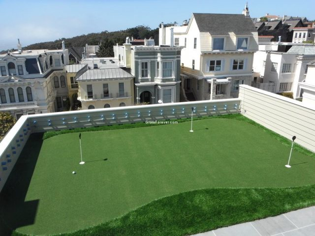 Project: San Francisco, CA Rooftop Putting Green with a View!