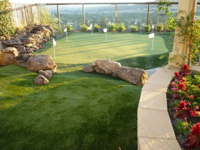 Project: San Ramon, CA Backyard Putting Green with a View!