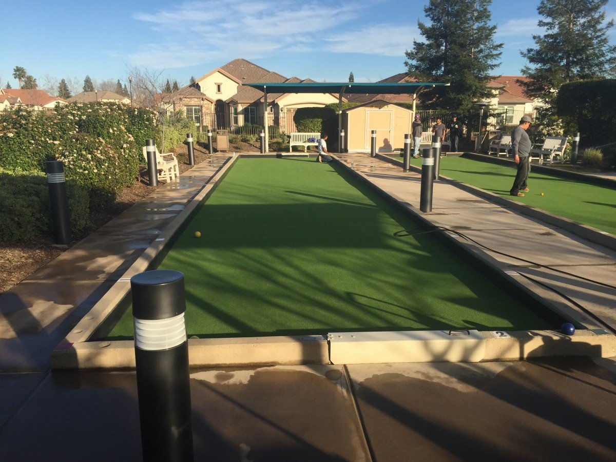 Roseville Ca Commercial Bocce Court The Club At