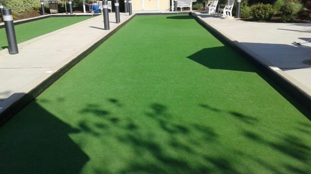 Project: Roseville, CA Commercial Bocce Court – The Club at WestPark