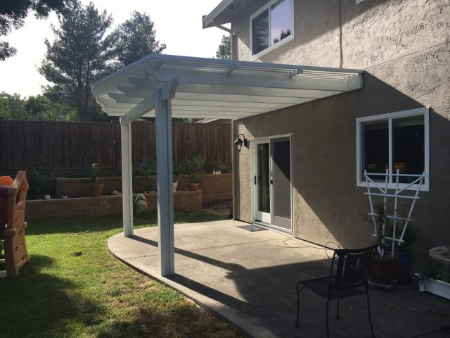 Project: Extra Tall Attached Pergola Backyard Patio Installation