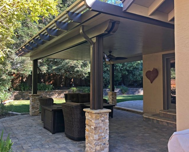 Project: Attached Solid Patio Cover Installed in Livermore, CA