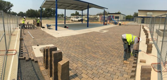 Project: Belgard Aqua Roc Pavers at El Capitan Elementary School