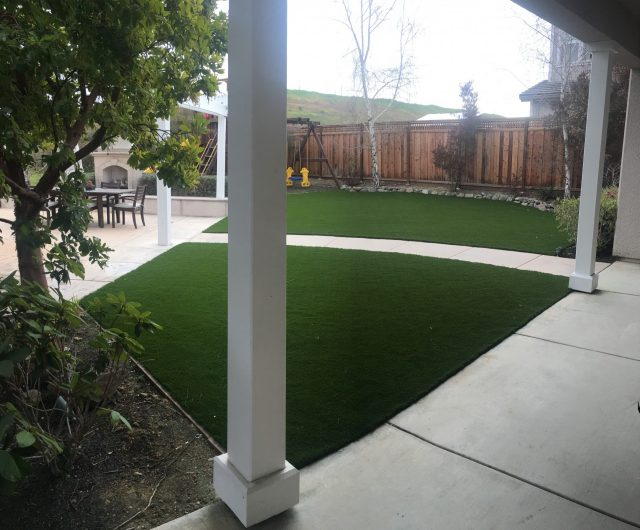 Project: Before and After Turf Installation in Livermore