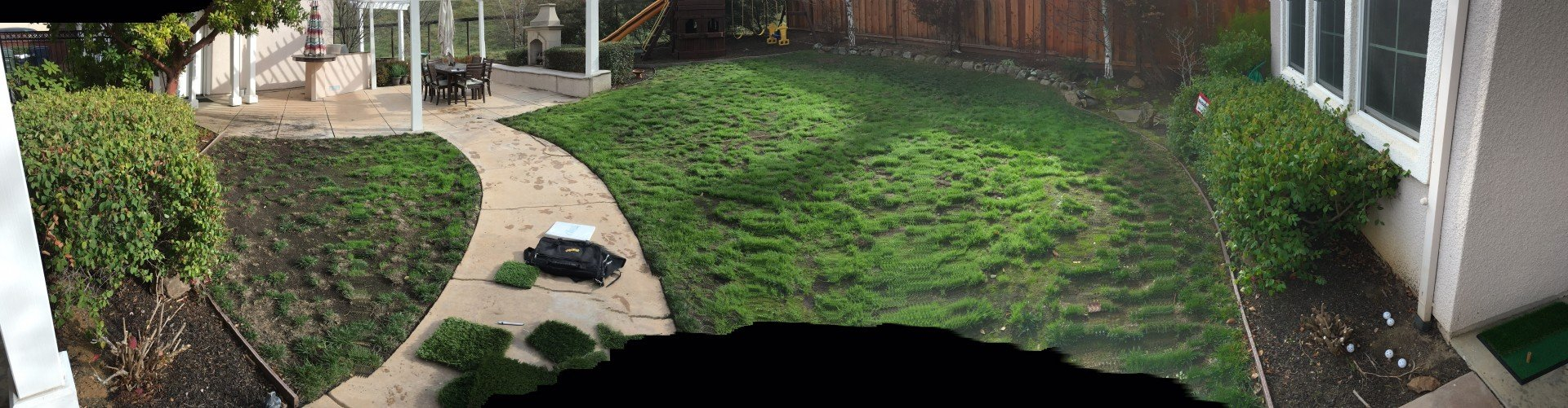 Before And After Turf Installation In Livermore Forever