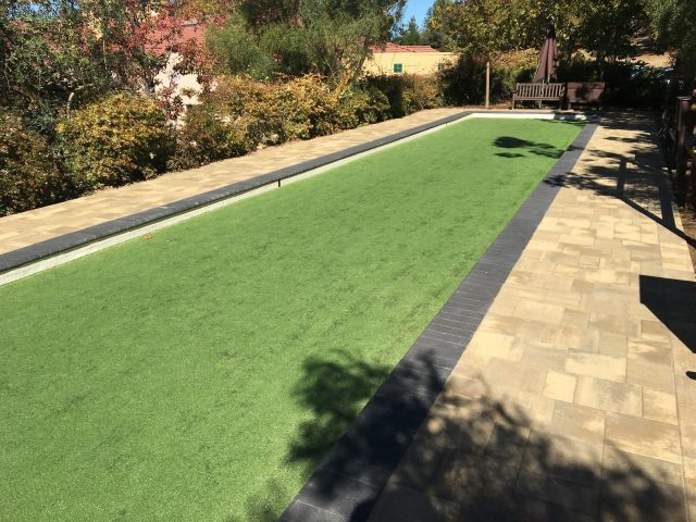Project: The Forum Senior Community Bocce Ball Court and Paver Patio