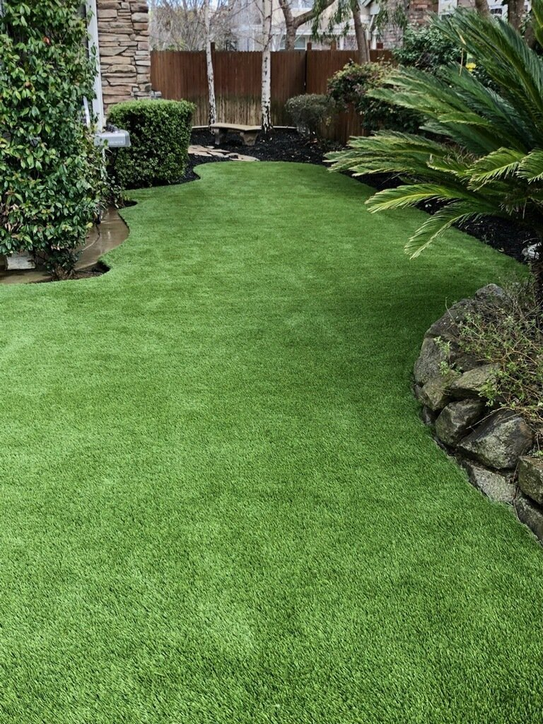 Livermore - Synthetic Grass Backyard - Forever Greens